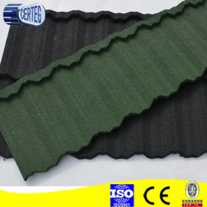 sand coated metal tile stone steel roof tiles asphalt roofingshingle pictures & photos