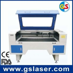 Top Quality Textile Fabric CO2 Laser Cutting Machine GS1490 80W pictures & photos