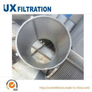 Stainless Steel Centrifuge Wedge Wire Screen Basket pictures & photos