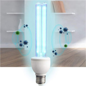 E27 Base Ozone UV Germicidal Lamp LED UVC Sanitizer Light Bulbs Disinfection Bulb Lights Great for Home Warehouse Supermarket