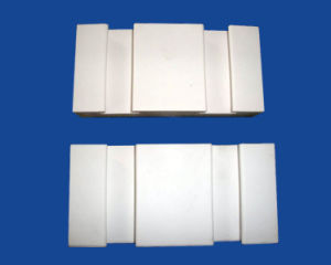 Alumina Ceramic Lining Bricks with Groove pictures & photos