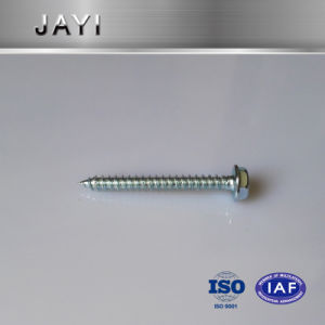 Self Tapping Screw with Indented Hexagon Washer, Wooden Screw pictures & photos
