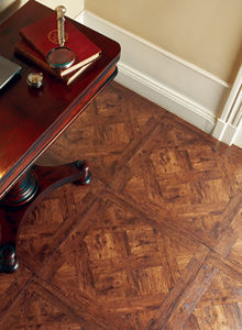 Household/Commercial 8.3mm/12.3mm Fashion HDF Art Parquet Laminate Flooring pictures & photos