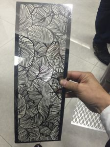 Decorative Laser Cut Stainless Steel Sheet with Color Coating pictures & photos
