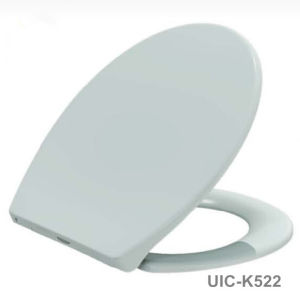 White Soft Close Duroplast Toilet Seat pictures & photos