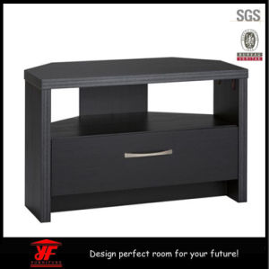 Simple Modern Used LCD LCD Wooden Pictures of Corner TV Cabinet Stand with Showcase
