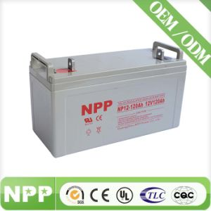 Good Quality Maintenance Free SLA Battery for Solar Power System12V 120ah (UL, CE, ISO9001, ISO14001)