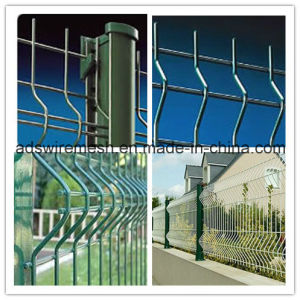 Triangular Bending Wire Mesh Fence (ISO9001) pictures & photos