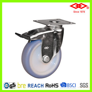 75mm Stainless Steel TPR Wheel Caster (P114-34B075X25) pictures & photos