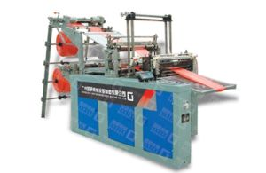 CE Plastic Bag Making Machine Plastic T-Shirt Bag Making Machine