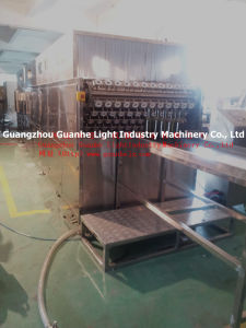Auto Bottle Washing Machine with Drying (for Glass Bottles) (GHHXP-8-12) pictures & photos