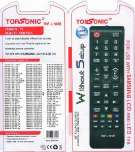 RM-L1088 Remote Control for Samsung LCD /LED TV