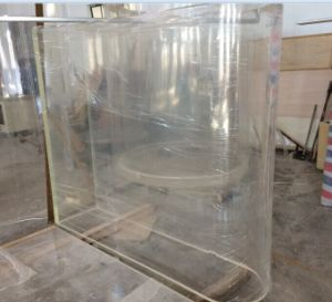 Large-Scale Transparent Acrylic Aquarium