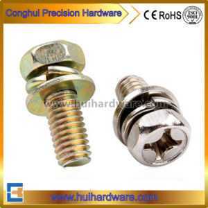 Competitive Prices Phillips Hex Head Machine Sems Screw / Steel Machine Screw pictures & photos