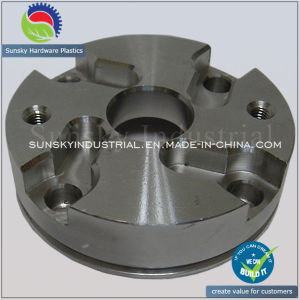 CNC Machining Parts Stainless Steel Flange for Machinery (ST13026) pictures & photos
