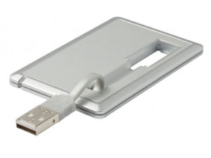 Card USB Drive With Customized Priniting--Free Samples