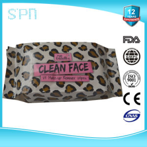 Soft Nonwoven Facial Make up Remover Cleaning Wet Wipes pictures & photos