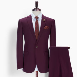 New Fashion Business Wedding Slim Fit Man Suit for Brazil pictures & photos
