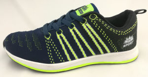 Casual Flyknit Sport Shoe for Men pictures & photos
