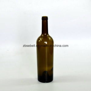 Dia. 74.5mm. Height: 304mm Taper Glass Wine Bottles pictures & photos