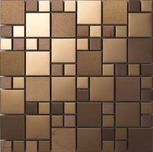 Color Stainless Steel Metal Mosaic pictures & photos