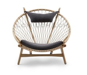Hans Wegner Circle Chairs Replica Solid Wood Classical Round Chair  sc 1 st  Nanjing Lanchou Network Technology Co. Ltd. & China Hans Wegner Circle Chairs Replica Solid Wood Classical Round ...