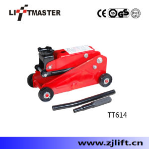 2t Mini Hydraulic Floor Trolly Jack Adjustable Saddle pictures & photos