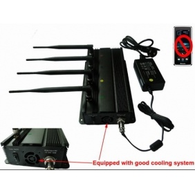 GPS and Cell Phone Signal Jammer with Car Charger - Shielding Range up to 30 Meters (SJ8009)