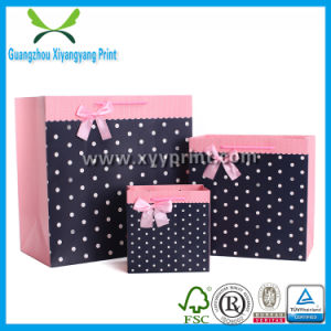 Wholesale Promotional Logo Printed Cheap Paper Shopping Bags pictures & photos