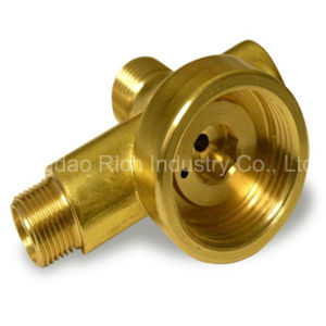Brass Forging Pipe Fittings Hot Aluminum Forging Tube Fittings pictures & photos