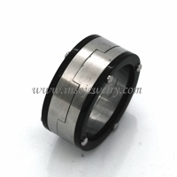 Stainless Steel Fashion Ring (RN04993)