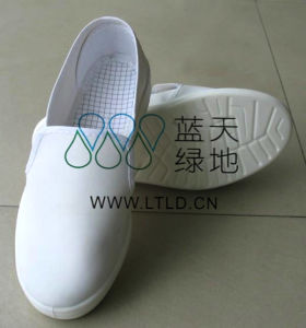 ESD PU Shoe (LTLD308-2) pictures & photos
