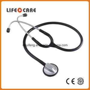 Coloured Single Head Aluminium Alloy Chestpiece Stethoscope for Adult pictures & photos