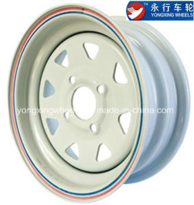 Triangle Spoke Steel Wheel for Trailer