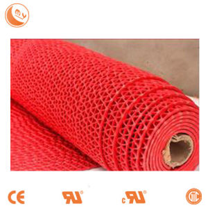 Luxury Polyester Yarn Anti Slip PVC Carpets and Rugs