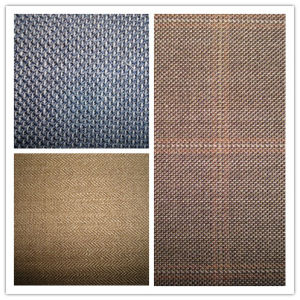 Wool Silk Linen Blenched Fabric pictures & photos