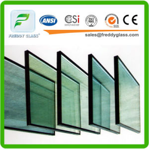 6mm Light Green Paint Glass/ Double Glazing Glass/ pictures & photos