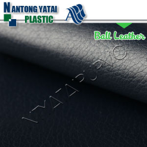 New Design Embossed PU Leather Synthetic Leather for Sportsball