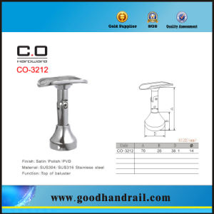 China Vertical Pipe Support (CO-3212) Stainless Steel