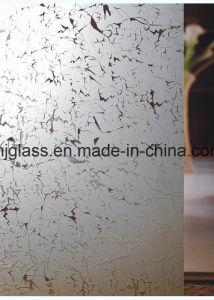 Silk Screen Glass, Mosaic Glass, Kitchen Door Glass, Window Glass pictures & photos