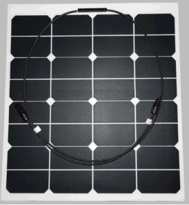 18V 80W ETFE Sunpower Soft Flexible Solar Panel Module pictures & photos