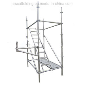 Safe High Quality Ringlock Scaffold with Construction pictures & photos