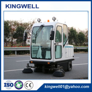 China Battery Road Sweeper (KW-1900F) pictures & photos