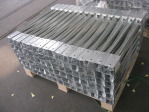 Wooden Post in Hot Dipped Galvanized