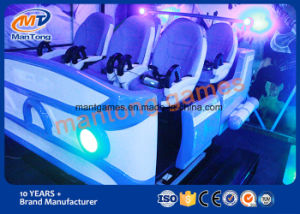 6 Fiberglass Chairs Dynamic Video Game 6 Dof Platform Egg Machine Simulator pictures & photos