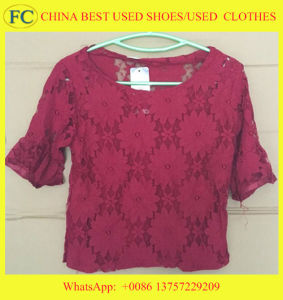 2016 Newest and Fashionable Used Grade a Silk Dress and Clothes for Africa Market (FCD-002)