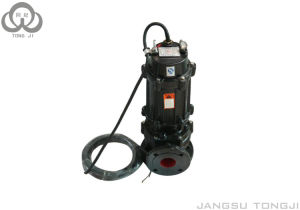 Non-Clog Waste Water Centrifugal Sewage Pump with Sewage Submersible Pump