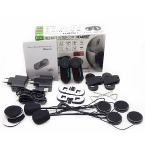 Bluetooth Waterproof Motorcycle Intercom for 2 Riders pictures & photos