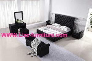 Diamond Bedroom Set: Diamond Bed+ Diamond Dresser