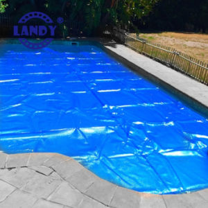 Landy Guangzhou Durable Swimming Pool Cover Reel pictures & photos